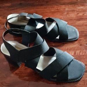 Charlie's Black Heels Sandals